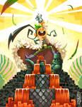 .:Mytho fanart - Quetzal Rock! :.