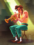 .: Le trompetiste :.