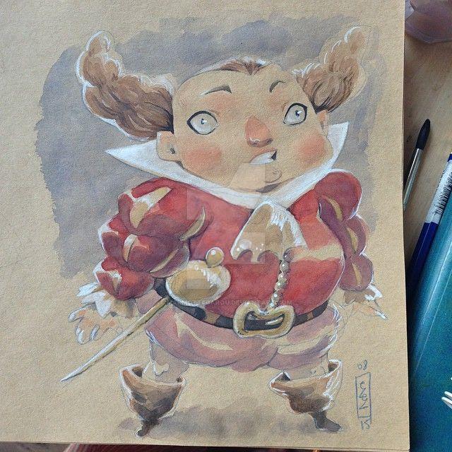 .: watercolor improv :. by Marmottegarou