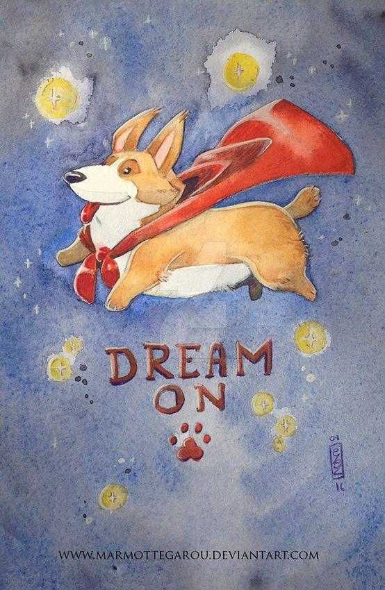 : Dream on : by Marmottegarou