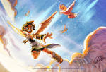 : Kid Icarus collab :