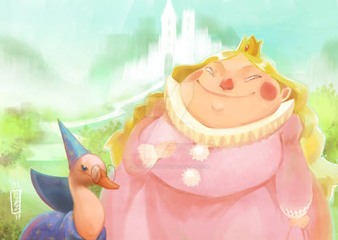 : Happy princesse :