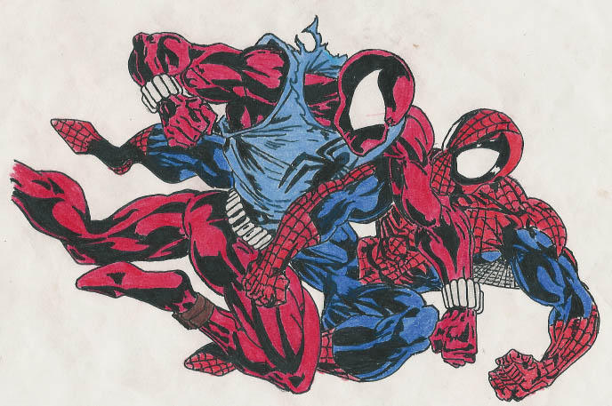 Negative side  They didn t do much with him  Why Scarlet Spider Vs Scarlet Spider