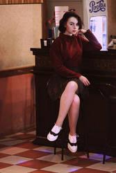 Audrey Horne cosplay by Rammstanya