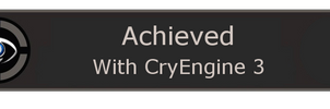 Achieved with cry engine 3 unlocked