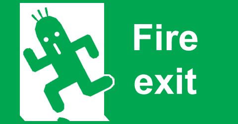 Cactuar Fire Exit