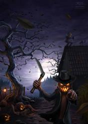 Evil Pumpkins by amorphisss