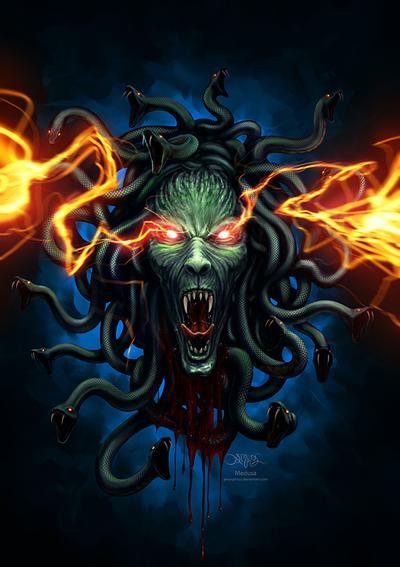 Medusa by amorphisss
