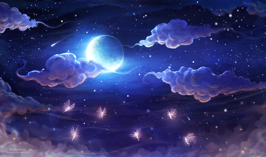 Moondance by amorphisss on DeviantArt  Moondance by am...