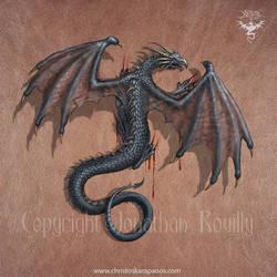 Dragon on my skin