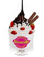 Frozen yogurt Chocolate by amorphisss
