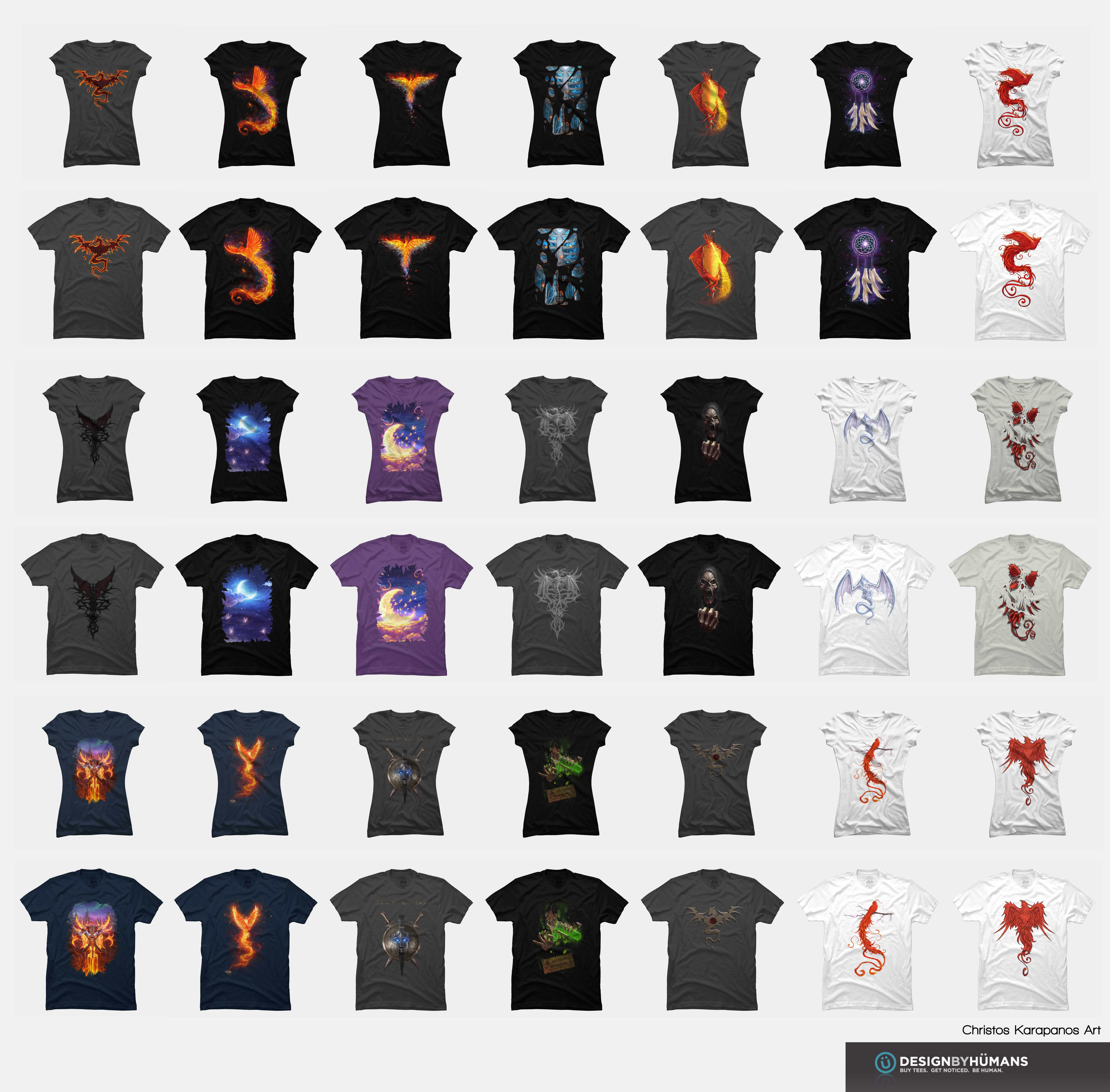 T-shirts by amorphisss