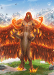 Alicor the Fire Falcon