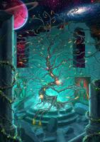 The Carnivourus Tree by amorphisss