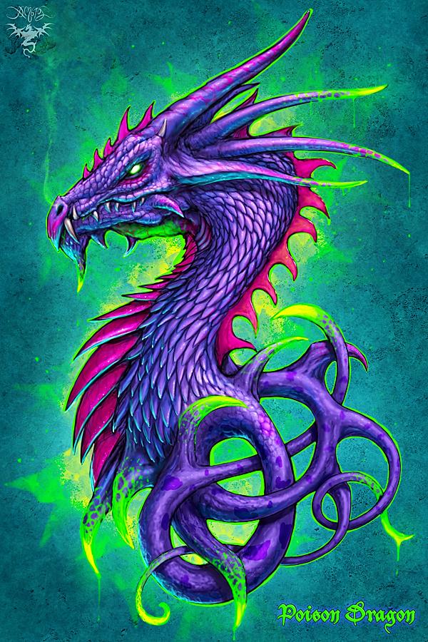 poison dragon by amorphisss on deviantart