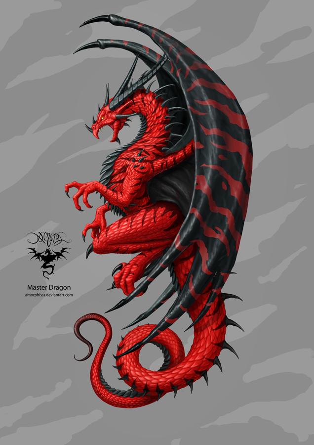 Master Dragon by amorphisss