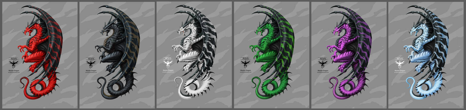Master Dragon colors