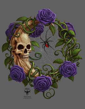 Skeleton Moon Purple ver