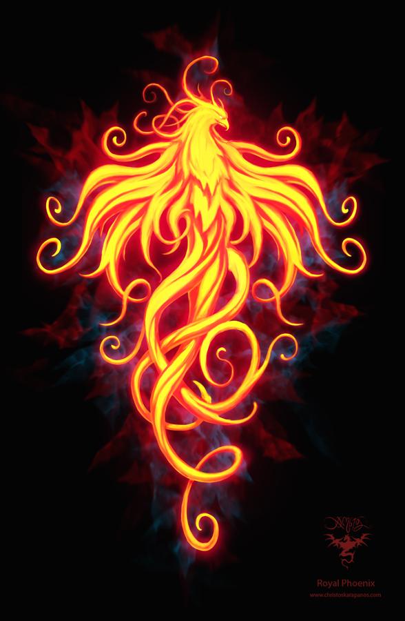 Royal Phoenix by amorphisss on DeviantArt