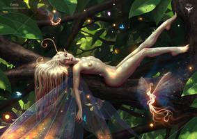 Dahlia The Fairy Queen by amorphisss