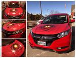 Dragon's Eye car hood by amorphisss