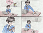 Ouran Host Club - Kyoya and Renge's cookies