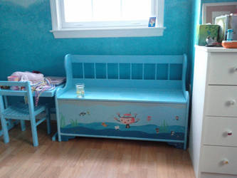 Octonauts Bench by Ani-Meg