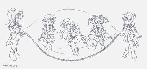 BSSM - Jump :line-art: by chaneljay
