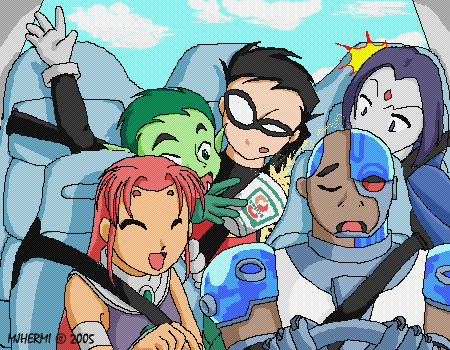 TT - A Long Ride for Cyborg by chaneljay