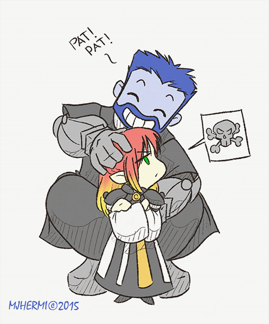 FFXIV - 'Uncle Mags' by chaneljay