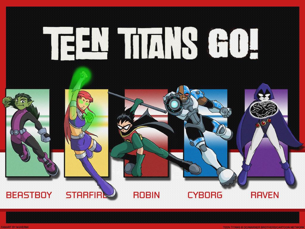 TT- Teen Titans Go :Wallpaper: by chaneljay