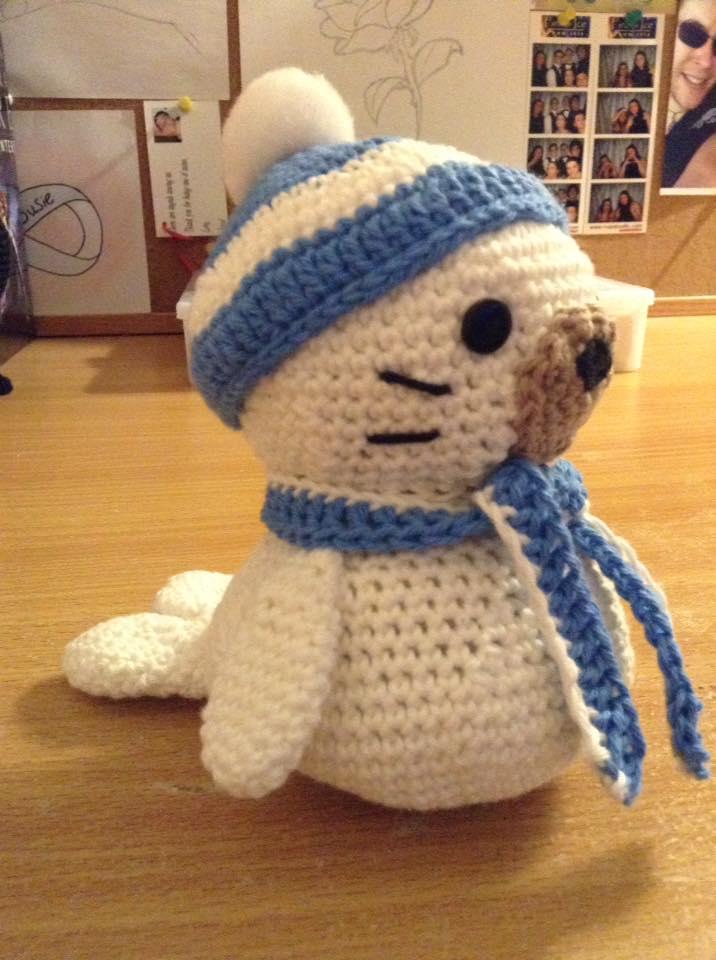 Amigurumi Seal Crochet by Fluffer2004