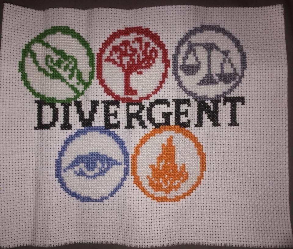 Divergent Cross Stitch by Fluffer2004