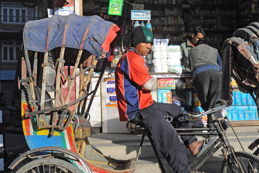 You need transport? (Katmandu, Nepal) by drewhoshkiw
