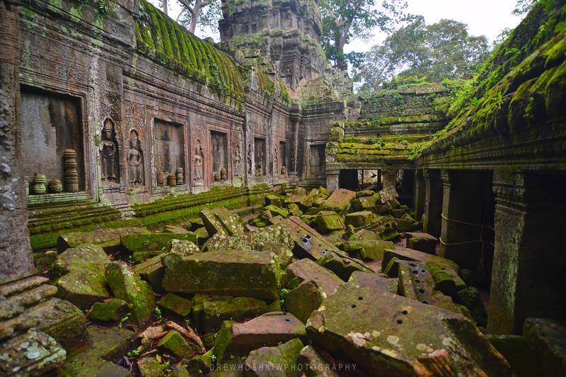 Angkorian Decay by drewhoshkiw