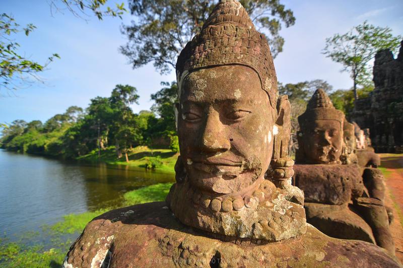 Angkor Wat, Cambodia (2012) by drewhoshkiw