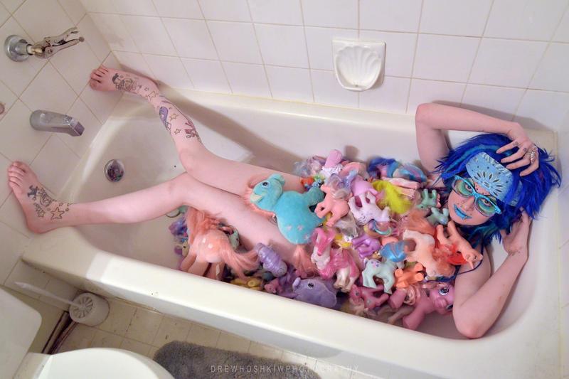 My Little Pony Bath By Drewhoshkiw .