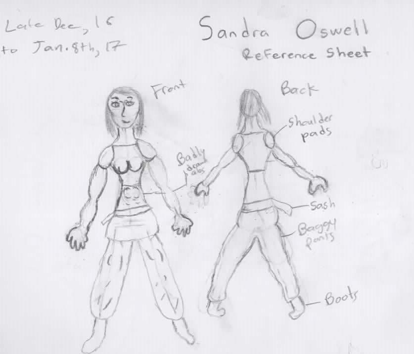 Sandra E. Oswell the Elder by SageofRhun