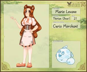 Marie Levane GA by lilacwolfsart