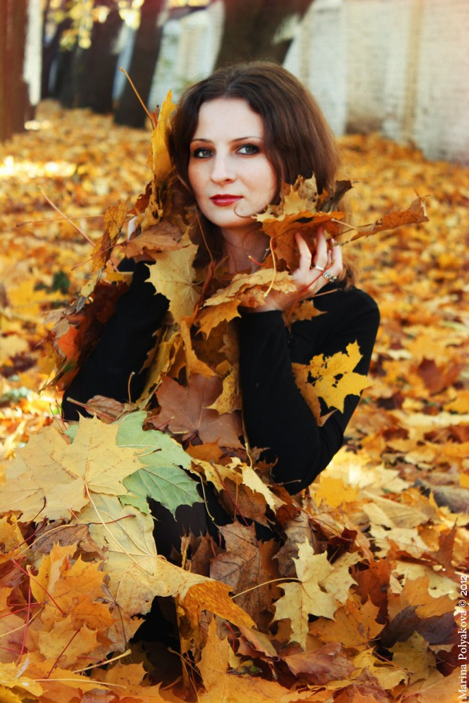 Autumn girl by Alexandra-Rei