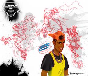 SOR x JSRF: Skate by BbStarD