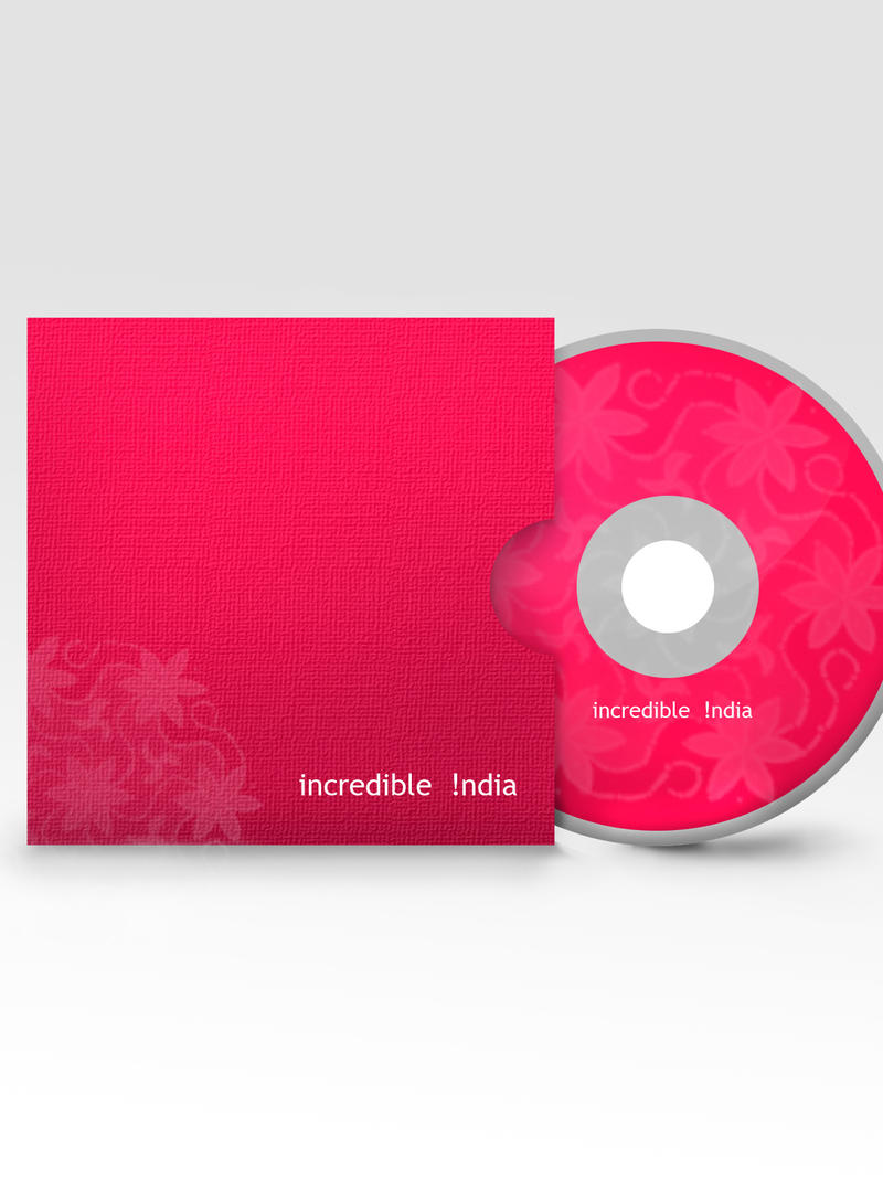 incredible india CD cover by xanthousis