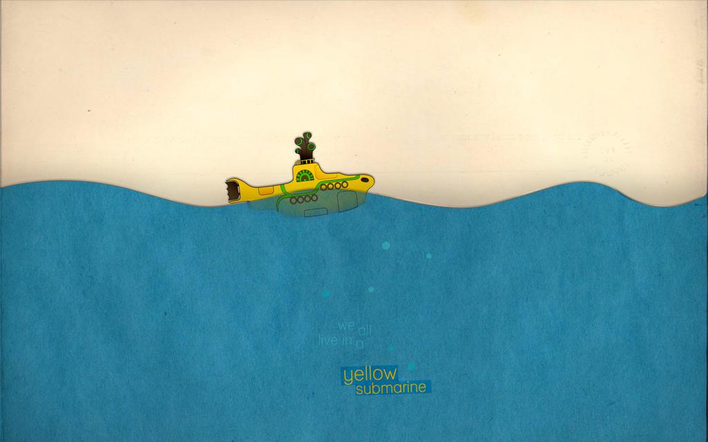 Yellow submarine by xanthousis