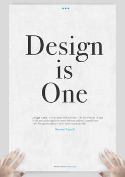Design is One: Main