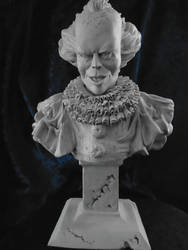 Pennywise the clown...... WIP by TONYWRIGHTDESIGNS