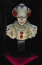 WE ALL FLOAT..finished pennywise. by TONYWRIGHTDESIGNS