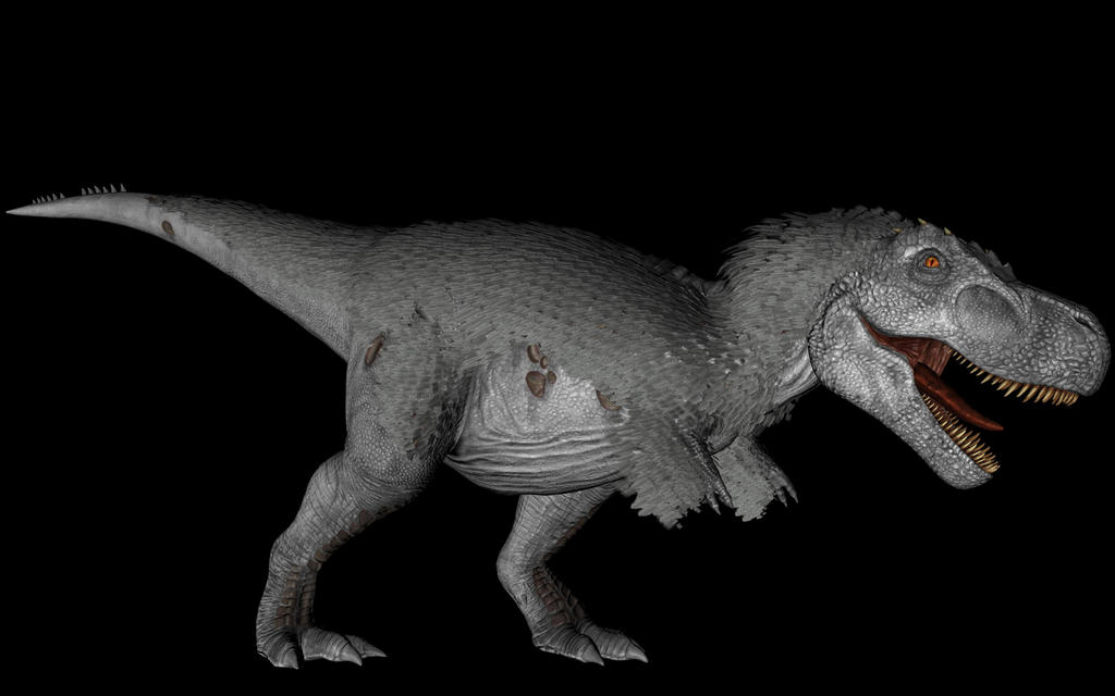 fan model ark - tyrannosaurus rexpyroraptor19 on deviantart