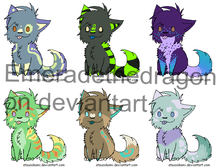 Puppy Adopts by emeradethedragon
