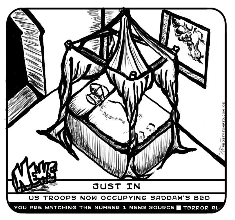 Saddams bed by kuso