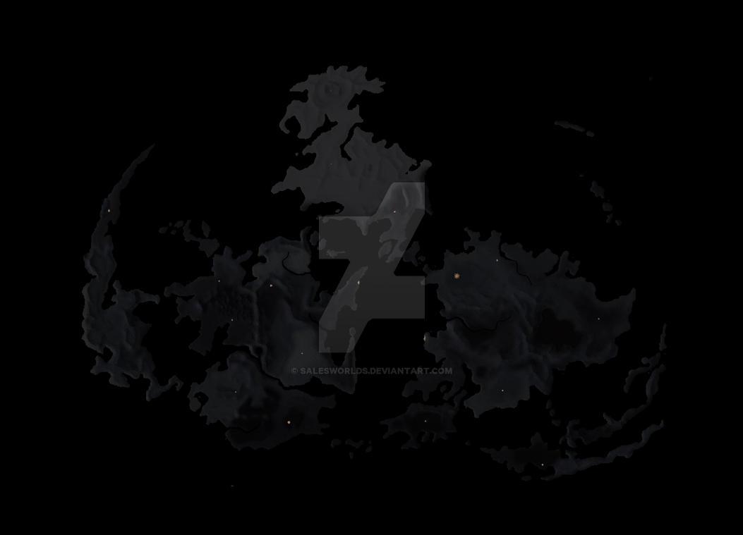 Gaia FF7 map night by SalesWorlds